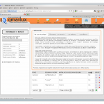 Panel użytkownika - sortowanie poczty