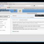 Panel postmastera - tworzenie nowych aliasów